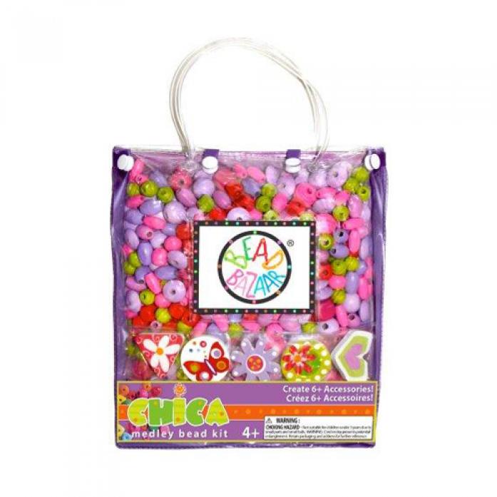 Набор Bead Bazaar Сумочка большая Фиолетовая 2032