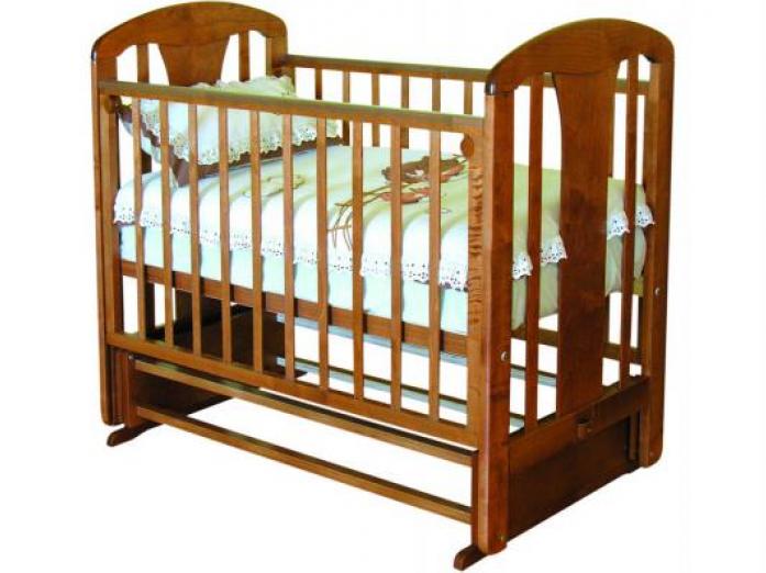 Кровать Можга С-853 Виталина накладка №28 Мама Красно-коричневый