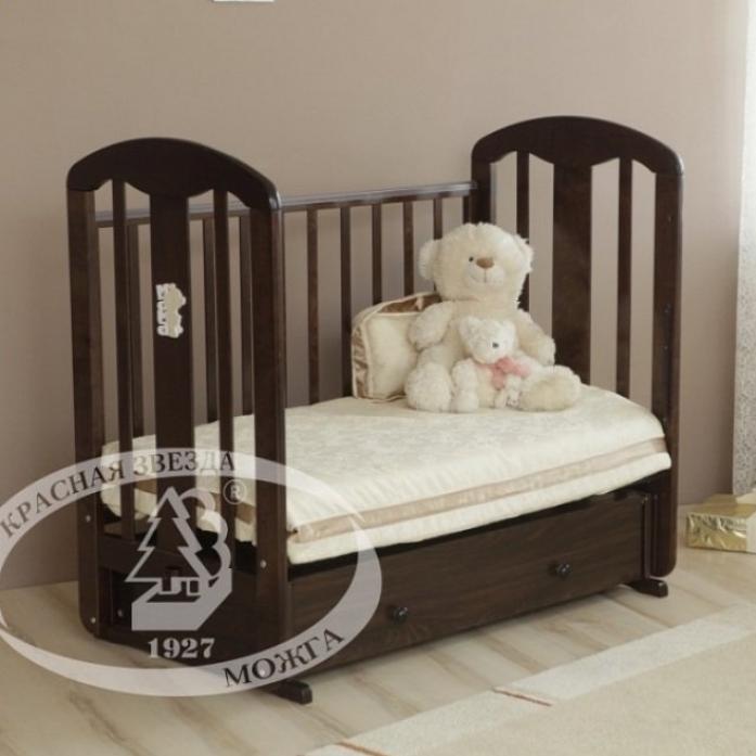 Кровать Можга С-853 Виталина накладка №28 Мама Шоколад
