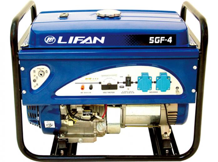 Генератор бензиновый Lifan 5GF-4