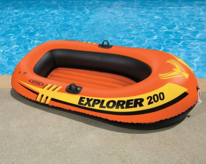 Надувная лодка Intex 2 местная без весел 58330