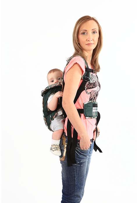 Рюкзак кенгуру Babystyle Томик до 12 кг 1411935