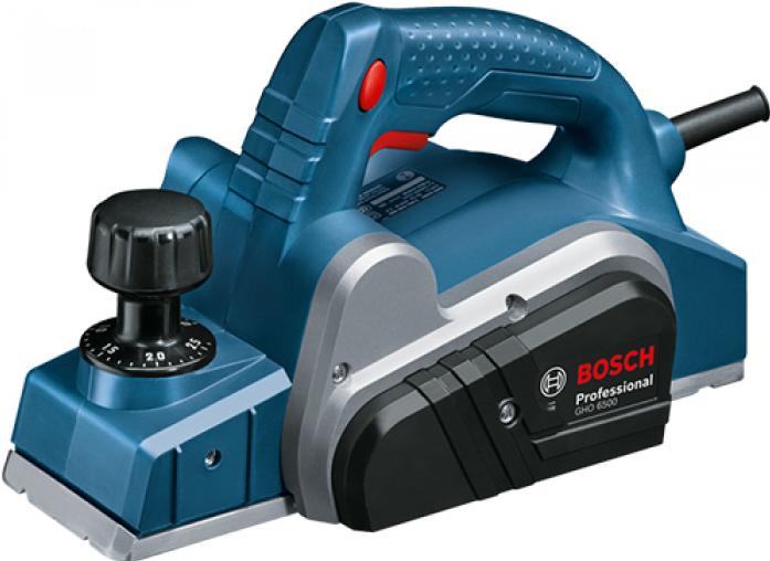 Рубанок Bosch GHO 6500 Professional 0601596000