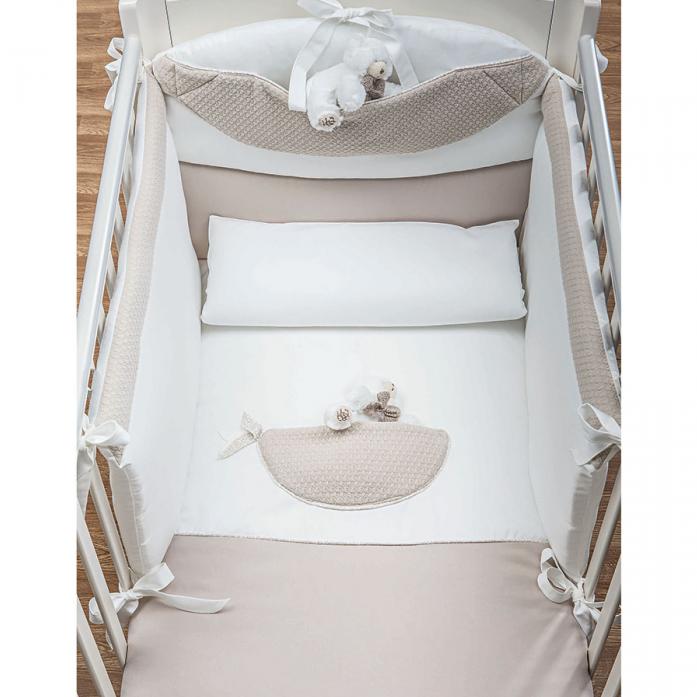 Комплект постельного белья Picci Mousse Little bears 3 предмета Cream D1215-09
