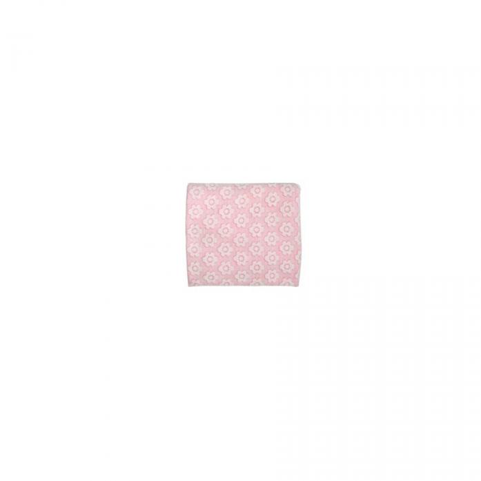 Плед Лео Цветы 100х90 Розовый 1652