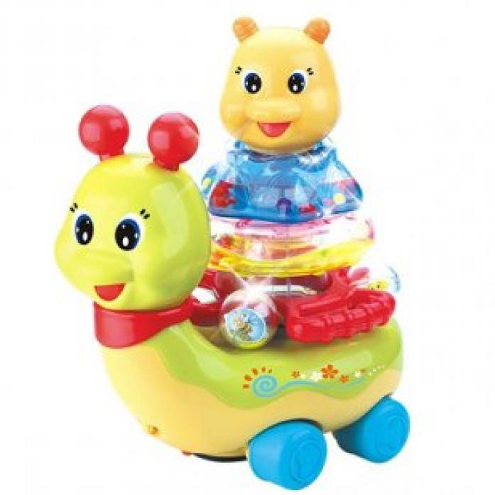 Каталка Huile Toys Улитка Y61137