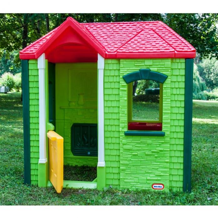 Игровой домик Little Tikes зеленый 172489