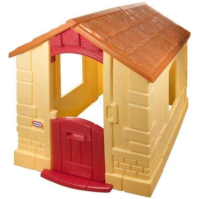 Игровой домик Little Tikes желтый 172786