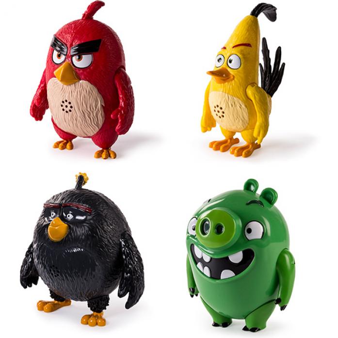 Игрушка Angry Birds Интерактивная говорящая птица 90510