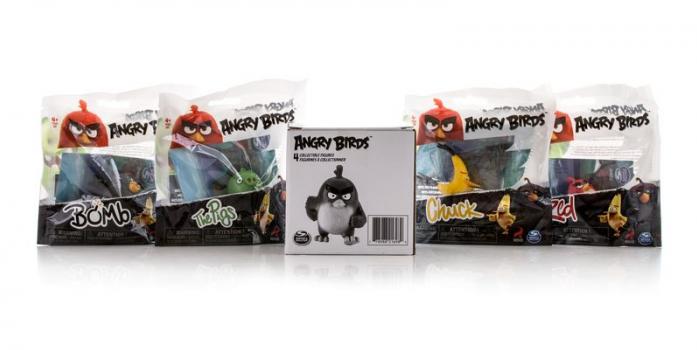 Игрушка Angry Birds Набор из 4 сердитых птичек 90509