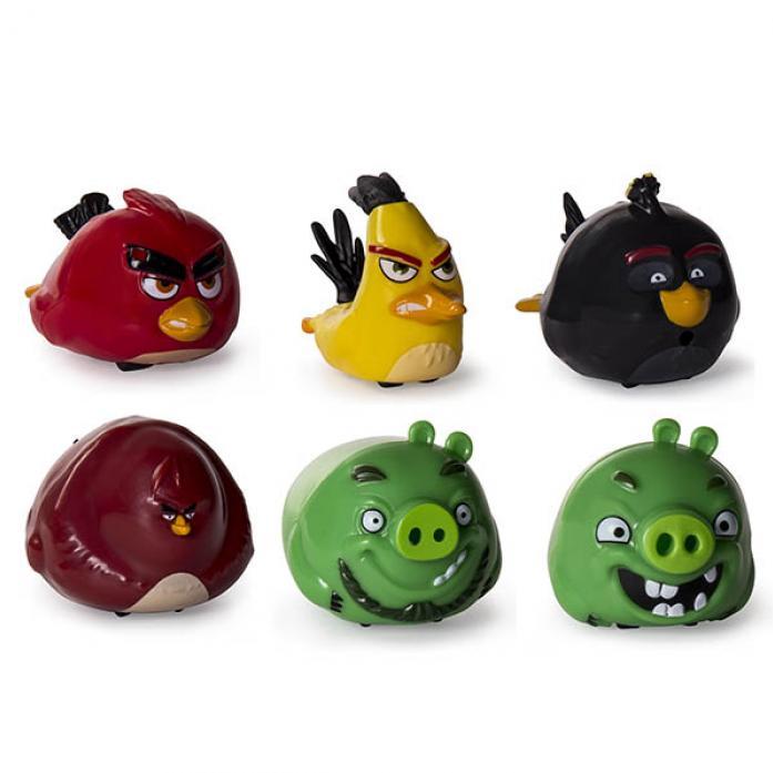 Игрушка интерактивная Angry Birds Птичка на колесиках 90500