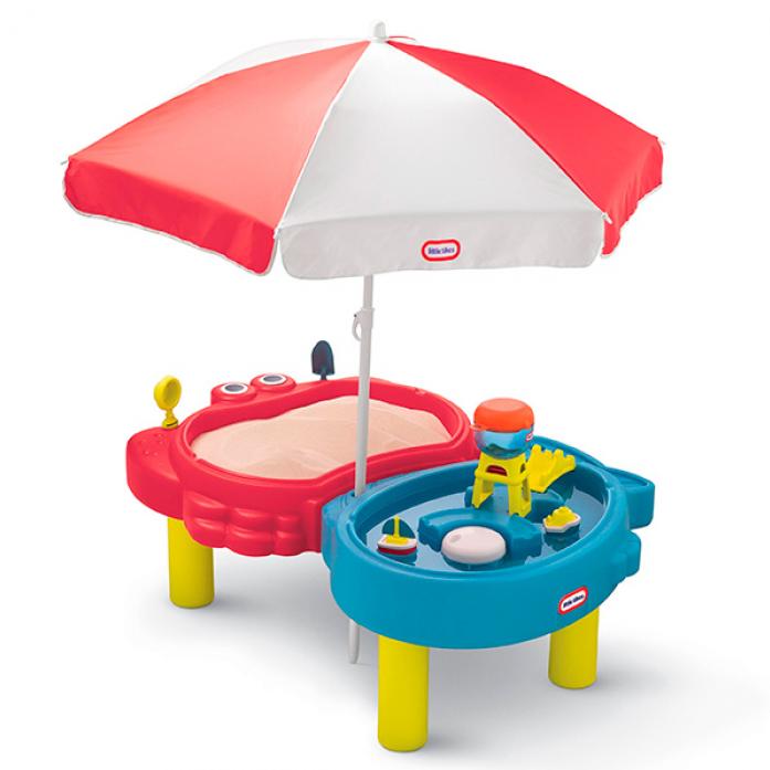 Стол-песочница Little Tikes с зонтом 401L