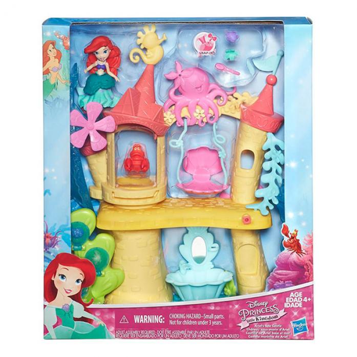 Игровой набор Disney Princess Замок Ариель для игры с водой B5836