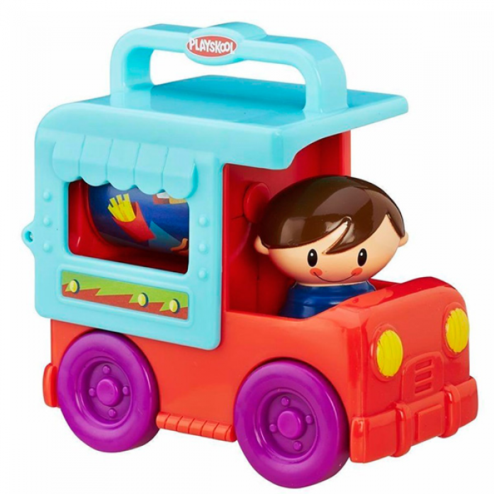 Игрушка Hasbro Playskool грузовичок Сложи и кати возьми с собой B4533