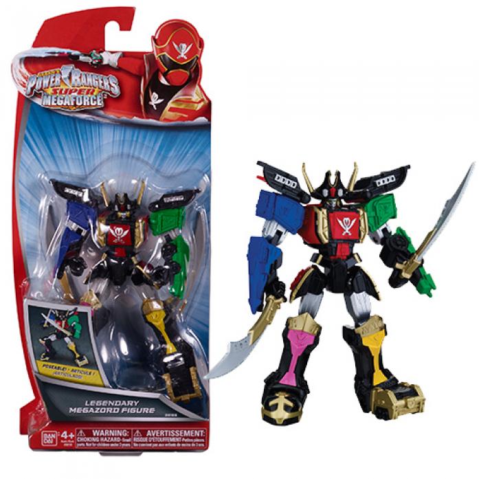 Игрушка Power Rangers Могучие рейнджеры Легендарный Мегазорд подвижный 38155