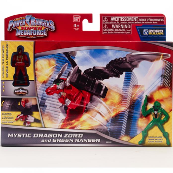 Игровой набор Power Rangers Могучие рейнджеры Зорда и фигурки рейнджера 10 см 38081