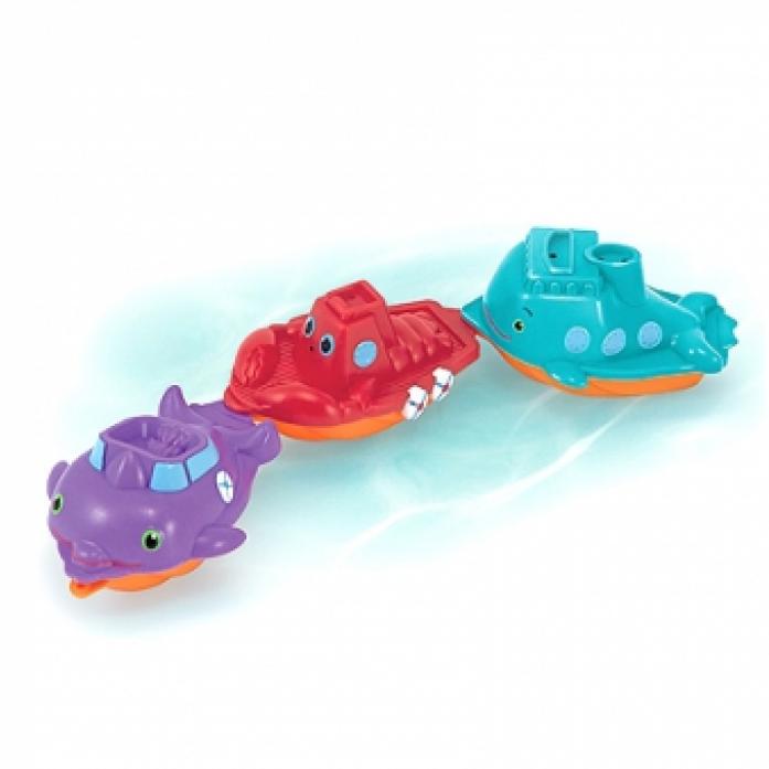 Игрушка для ванной Melissa&Doug Sunny Patch Дружные кораблики 6674