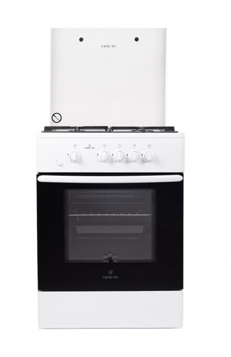Газовая плита Greta 600-10 белый