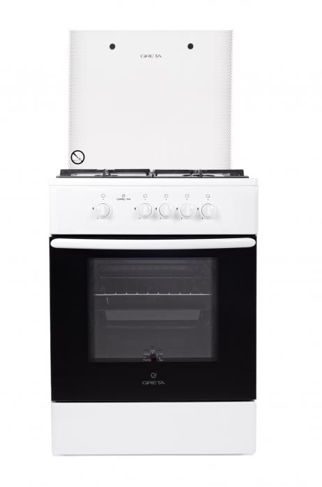 Газовая плита Greta 600-16 белый