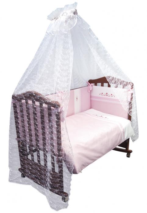 Комплект постельного белья Сонный Гномик Прованс розовый (7 предметов) 769/2