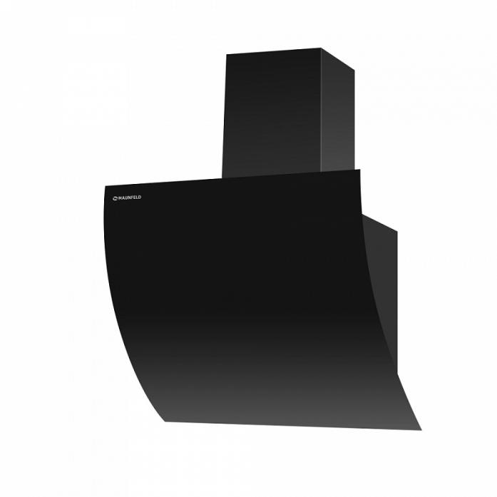 Вытяжка Maunfeld SKY STAR PUSH 60 BLACK (цвет черный/черное стекло)