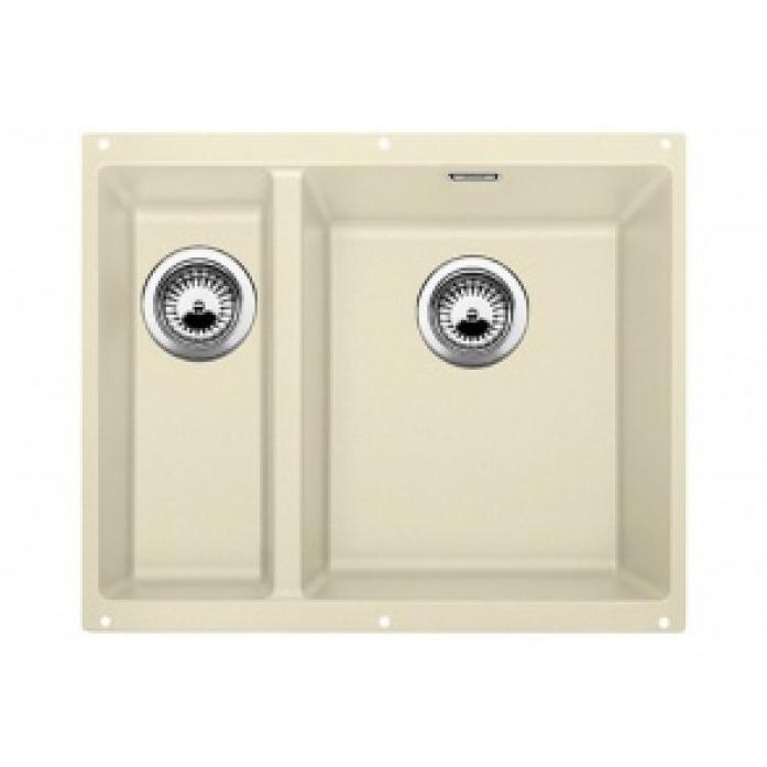 Кухонная мойка Blanco SUBLINE 340/160-U SILGRANIT жасмин чаша справа 520407