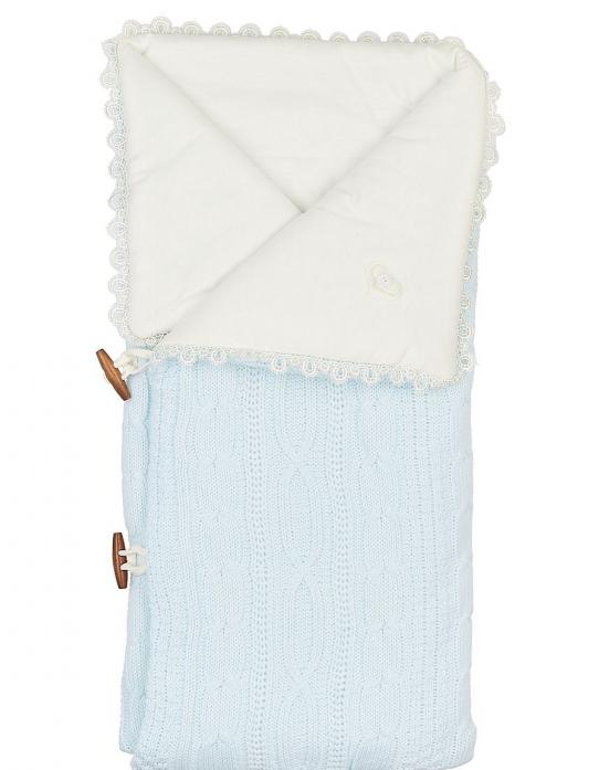 Конверт-одеяло Сонный Гномик Малышок 1710-1/1 голубой