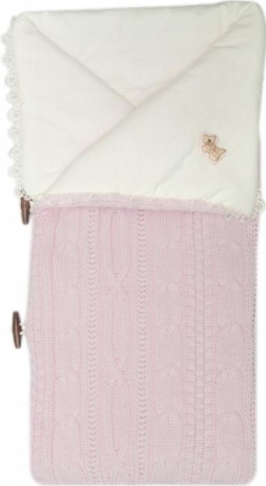 Конверт-одеяло Сонный Гномик Малышок 1710-1/2 розовый