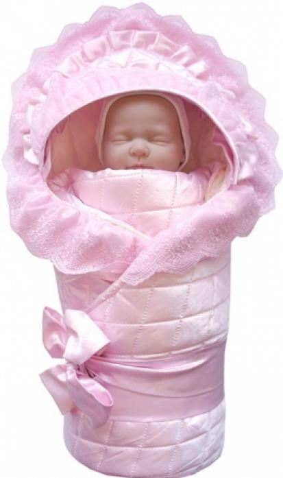 Конверт ОТК с декоративной резинкой фиксатором К310054 розовый