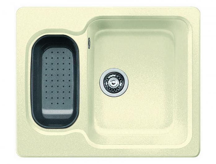 Кухонная мойка Blanco NOVA 6 жасмин SILGRANIT без клапана автомата 521371