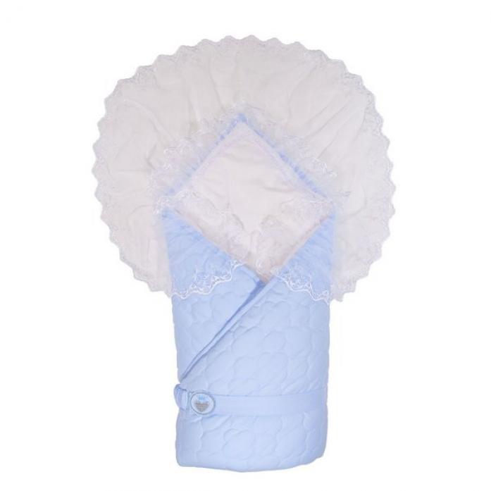 Одеяло-конверт Сонный Гномик Малютка 940/1 голубой