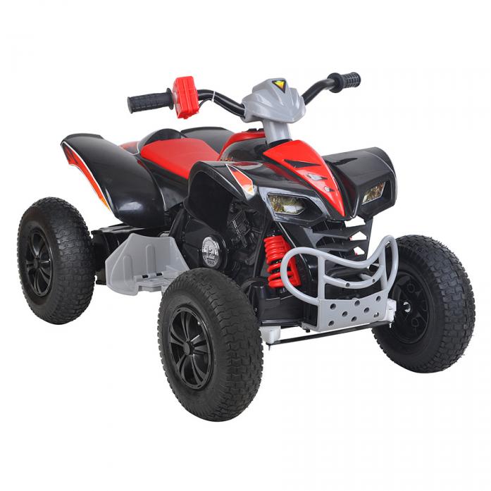 Электро-Квадроцикл Zhehua 12V/10Ah*2 Black KL-789