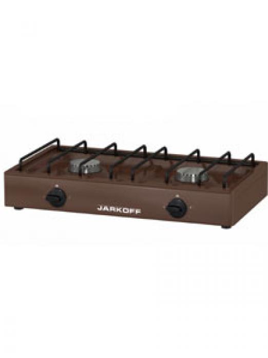 Настольная плита JARKOFF JK-1217Br коричневая