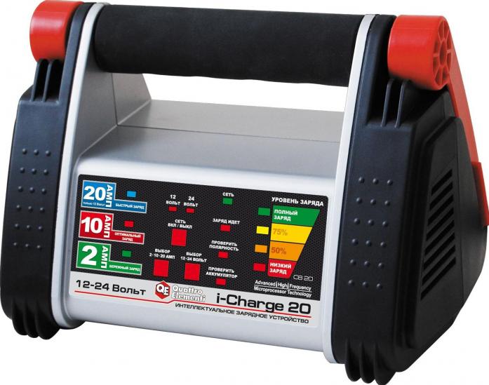 Зарядное устройство QUATTRO ELEMENTI i-Charge 20 771-169