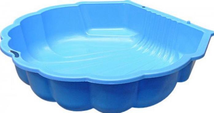 Песочница Macyszynt Toys Ракушка 1249 Синяя (одинарная)