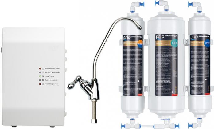 Система обратного осмоса Новая вода Econic Osmos Stream OD360