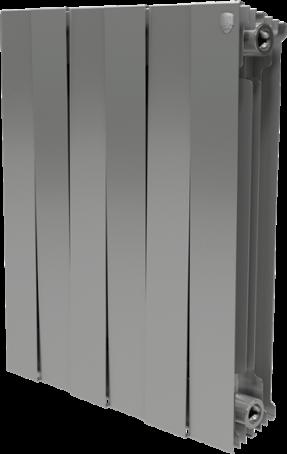Радиатор отопления Royal Thermo PianoForte 500/Silver Satin (10 секц.)