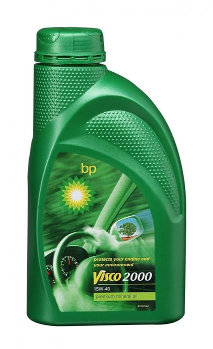 Масло моторное BP Visco 2000 15w40 A3/B3 (1л) Минеральное SL/CF 14FA23