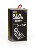 8208 O.E.M. for Toyota Lexus ATF T-IV 4л металл 3043