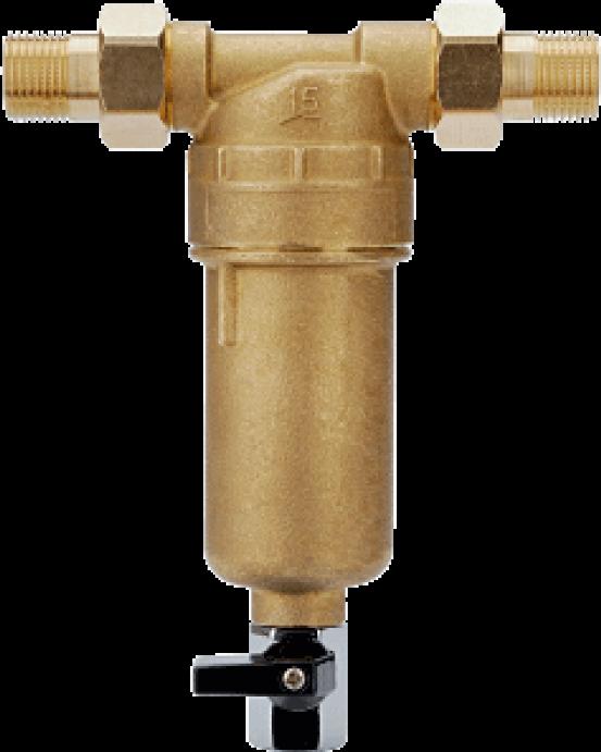 Сетчатый фильтр с промывкой Новая вода А 281 на г/в